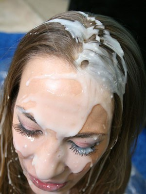 Jamie Elle ass fucking with a monster cock and has bukkake on her face