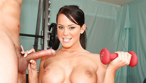 Flexy babe Savannah Stern with big tits gets fucked all ways possible