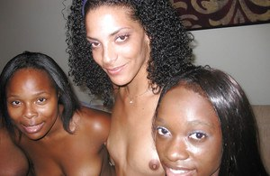 Black babe with big tits Justice spreads pussy and kisses with a girl