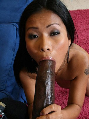 Asian babe with big tits Priva fucking a big cock to get a creamy load