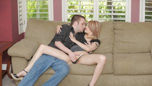 Amateur girlfriend Bree Daniels enjoys getting hardcore banged