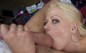 Ball licking, blowjob and anal sex with hardcore milf Holly Heart