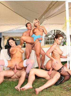 With tgp stockings orgy