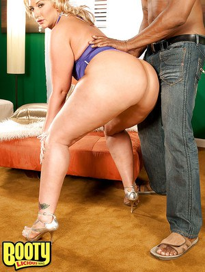 Big ass mature Kelli Staxxx strips and gets ready for interracial sex