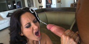 Gorgeous MILF with fabulous tits and ass Ava Addams riding big cock