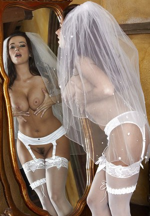 Wedding day nudes