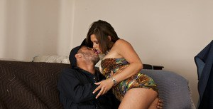 MILF with big tits Tory Lane shows her stunning body and fucks