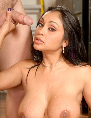 Indian MILF with big tits Priya Rai gets her shaved cunt banged