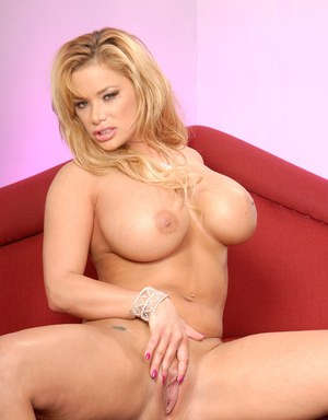 Gorgeous MILF with big tits and hot ass Shyla Stylez stripping