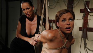 Gorgeous MILFs Mandy Bright & Szilvia Lauren are into wild femdom action