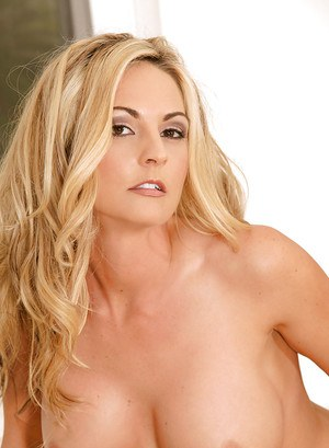 Blonde MILF Sindy Lange stripping and showing off her gorgeous body