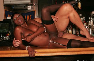 Horny ebony MILF Jada Fire is into groupsex with two white guys