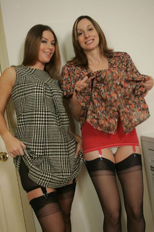 Abigail Fraser stripping and having lesbian fun with her friend