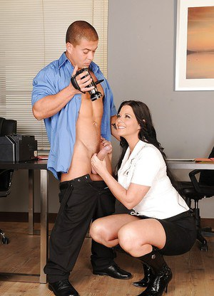 Slutty European secretary Simony Diamond get ass fucked hard