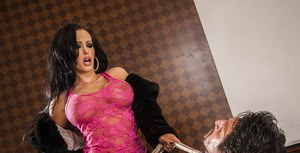 Latina MILF pornstar Jenna Presley with big tits getting banged