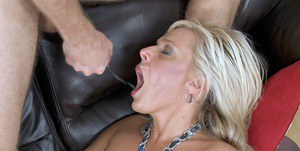 Lascivious MILF with big tits Carey Riley gets pounded hardcore