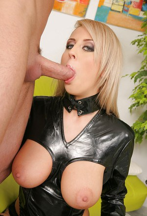Sweet blonde in nylon stockings Mandy Dee gets pounded hardcore