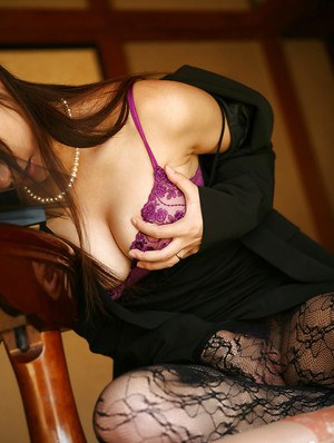 Stunning asian coed Miho Sonoda uncovering her petite bosoms
