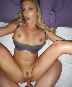 Ravishing blonde with big tits Samantha Saint gets shagged hardcore