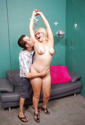 Fatty blonde with big ass Alice Frost gets shagged hardcore