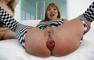 Ava Devine & Adrianna Nicole are into hot anal lesbian action