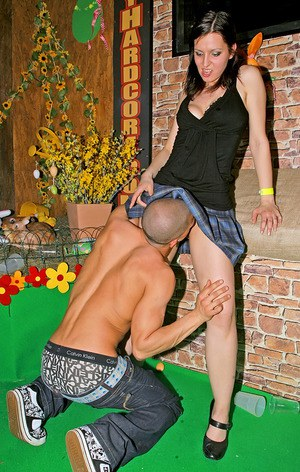 Salacious amateur sluts getting fucked hardcore at the drunk party