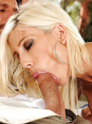 Full-bosomed MILF Puma Swede gets her pussy licked and drilled hardcore