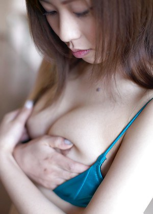 Asian cutie in lingerie Jun Seto revealing her tiny tits