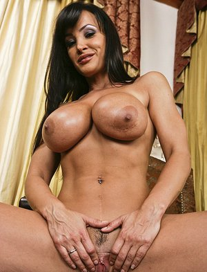 Curvaceous MILF Lisa Ann gets her love holes stuffed by a big hard dick