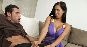 Voluptuous latina vixen with massive bosoms Isis Love gets shagged