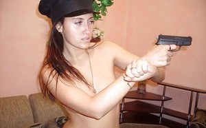 Naughty european couple makes some role play action for homemade video