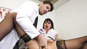 Full-breasted MILF Eva Karera gets her pussy drilled by a big shaft