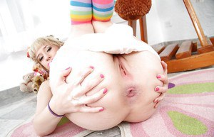 Frolic teen with neat ass Proxy Paige makes some sweet baby play action