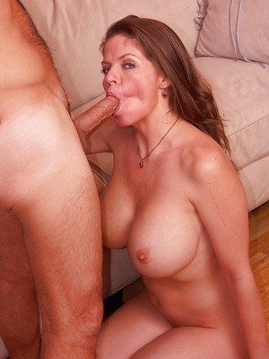 Lewd MILF with big round tits June Summers gets pounded hardcore