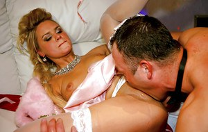 Rammish MILFs has some dirty fun at the drunk groupsex party