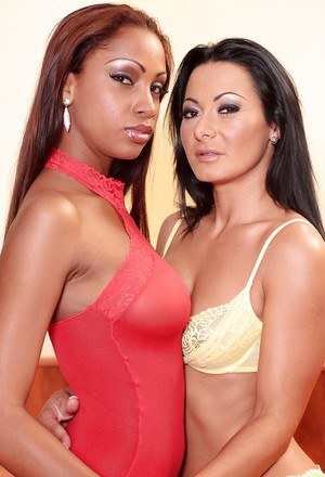 Graceful MILF has some anal toying fun with her ebony lesbian friend
