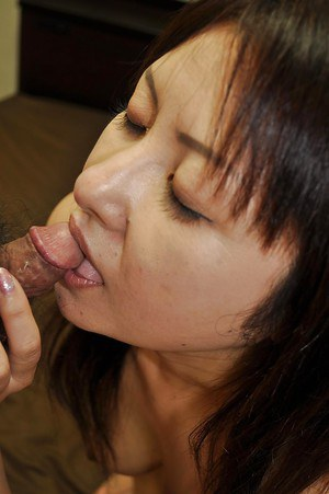 Asian MILF gets her hard nipples tweaked and her hairy pussy boned-up