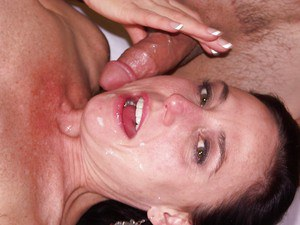 Karen Kougar gets mouth fucked and enjoys hardcore anal banging