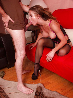 Honey West shows off her deepthroat skills and gets shagged hardcore