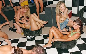 Rammish european MILFs spend some good time at the wet sex orgy