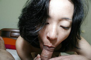 Asian MILF Aya Sakuma gets her shaggy pussy licked and slammed
