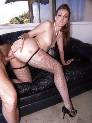 Saucy MILF Miss Lady blows and fucks a hard cock for a pussy creampied