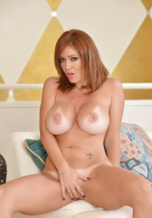 Playful MILF Charlee Chase uncovering her jaw-dropping sexy curves