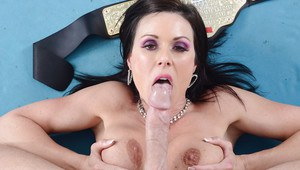 Kendra Lust gets fucked and milks a big boner with her big tits