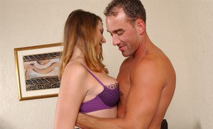 Lecherous MILF gets shagged for a cumshot on her eager face