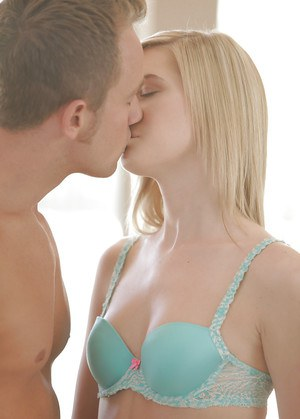 Amazingly lovely blondies have a passionate threesome with a hung guy