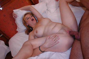 Salacious MILF gets anally crashed for a hot cumshot in her mouth