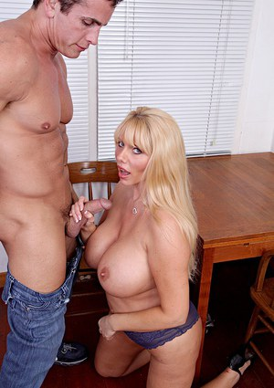 Lewd MILF with huge tatas gets her hungry pussy licked and drilled tough