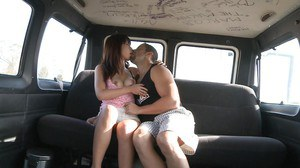 Lecherous asian doxy gets shagged in the car for jizz on her face and tongue