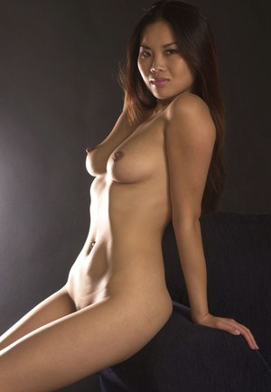 Sassy thai sugar with perky tits slipping off her lingerie